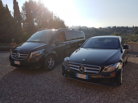 New CLASSE V MERCEDES 7 pax LUXURY-Sedan MERCEDES CLASSE E - TRANSFER DRIVER FLORENCE